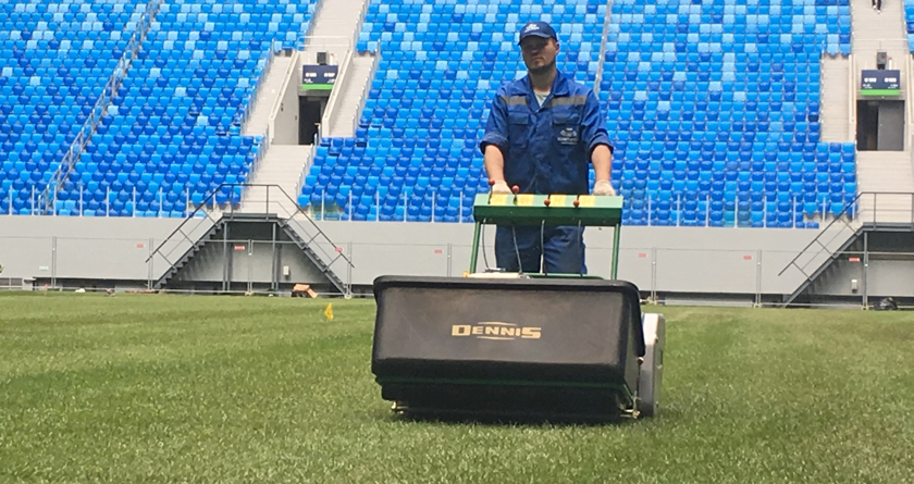 Dennis Mowers selected as World Cup mower