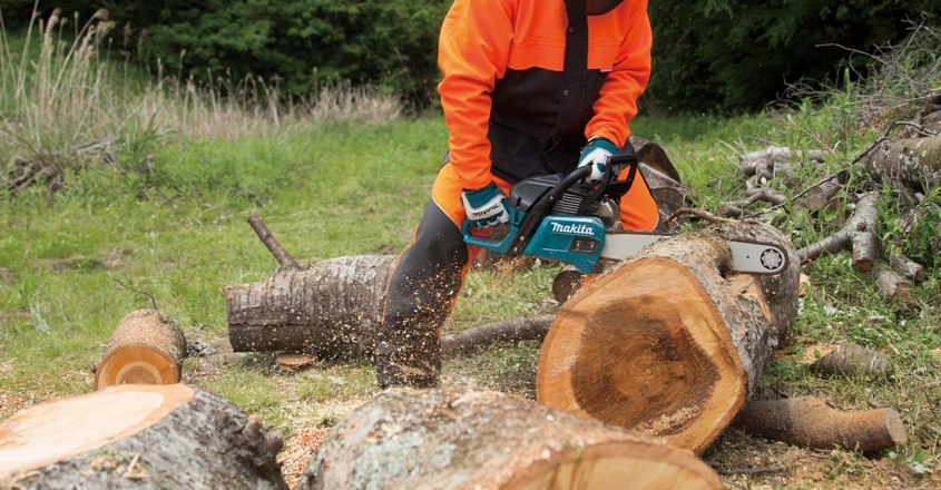 Makita introduces new 55.7cc chainsaw