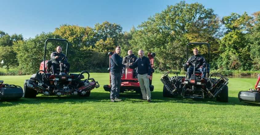 Toro's first fleet for Crondon Park