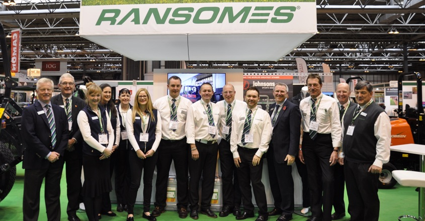 Ransomes to Showcase New TR320 and HM600
