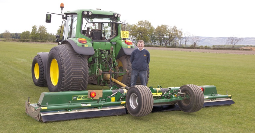 Major delivering superior cutting for Albar Turf