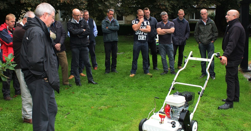 Etesia regional dealer events a great success