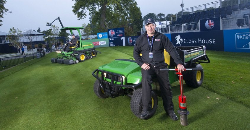 John Deere supports The 2017 British Masters