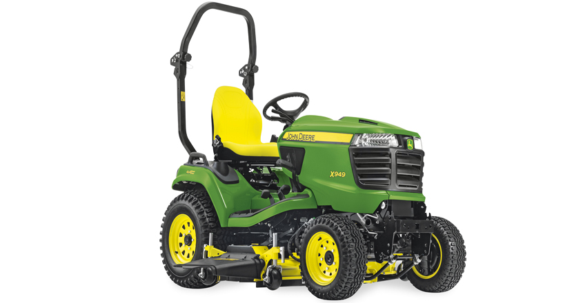 John Deere launches new lawn tractor
