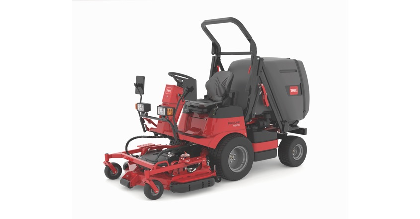Reesink's pride in productive new rotary mower