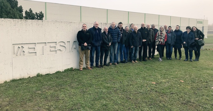 Etesia UK dealers visit factory in Wissembourg
