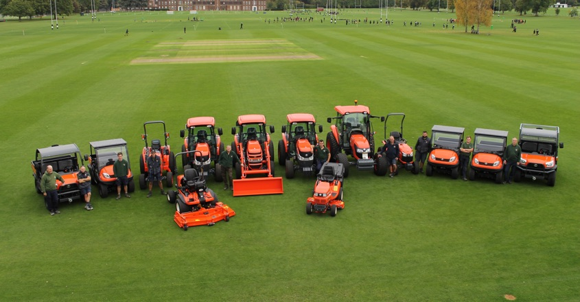 Kubota's lucky 13 for Merchant Taylors' school
