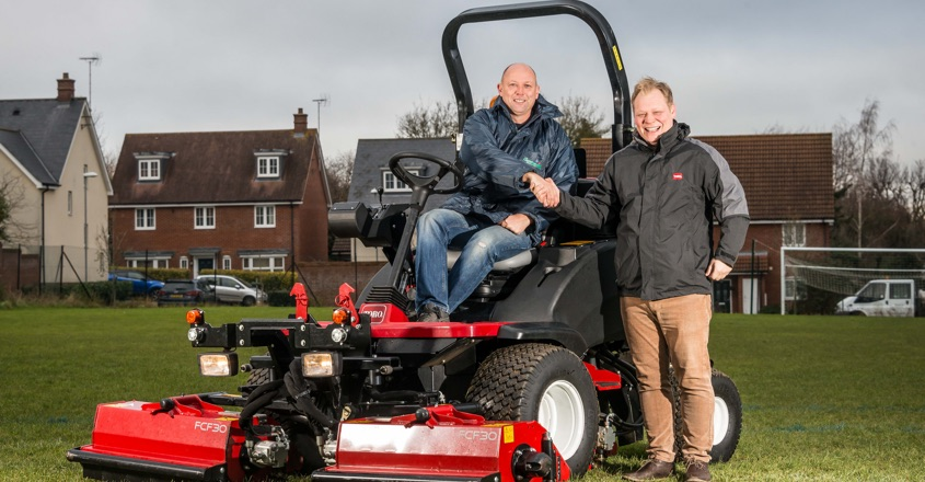 Versatile Toro for Countrywide mowing