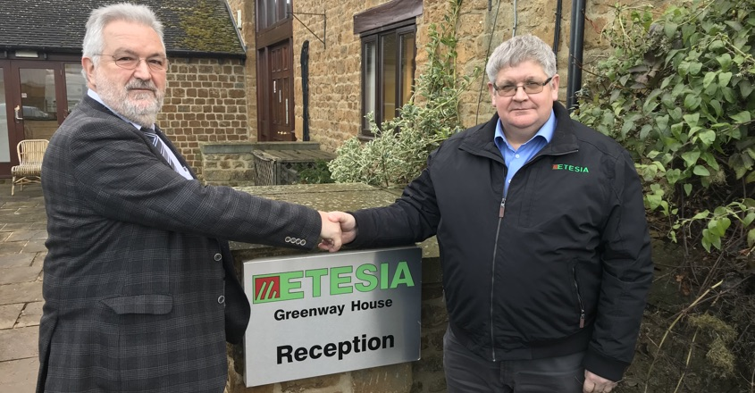 Les Malin appointed MD for Etesia UK