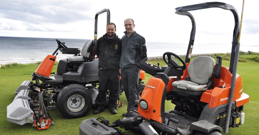 Jacobsen's magic touch at Golspie Golf Club