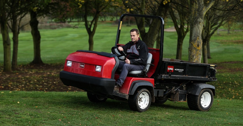 Two more Toro Workmans for John O'Gaunt