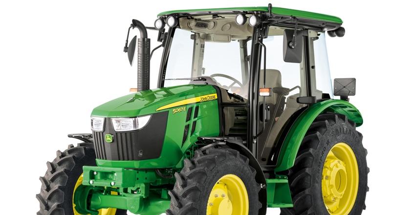 New 5 Series tractors from John Deere