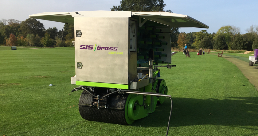 SISGrass Tees Off Into Golf Market – visit them at BTME 2018