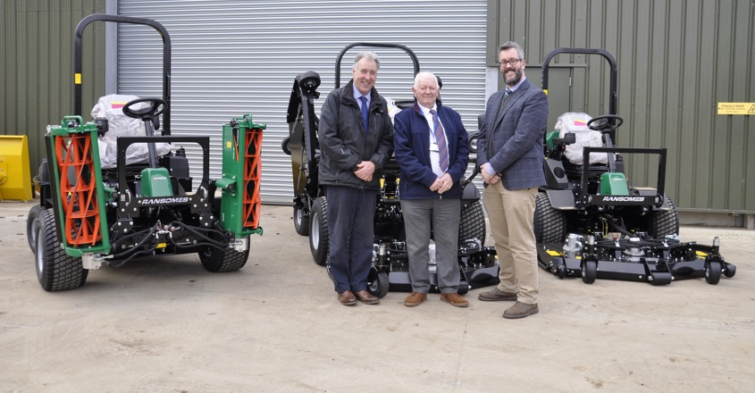 Ransomes 20 years with Continental Landscapes