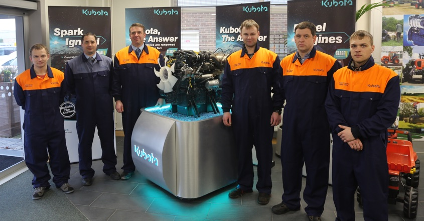Kubota appoints engine distributor for Finland