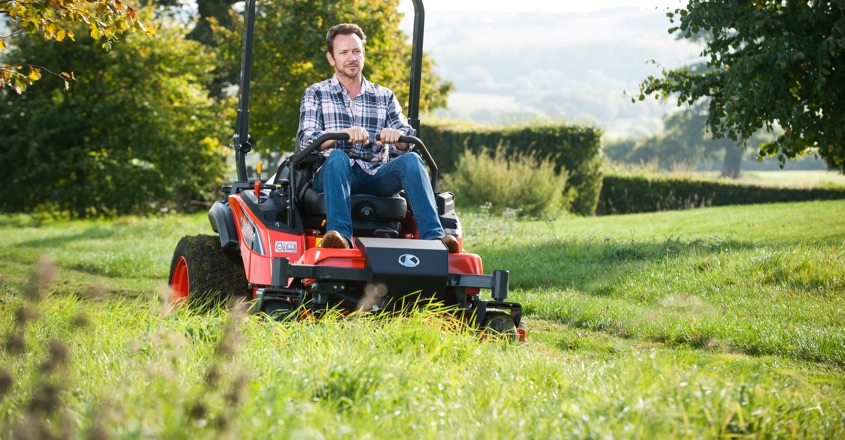 Kubota launches new zero turn ride-on mower