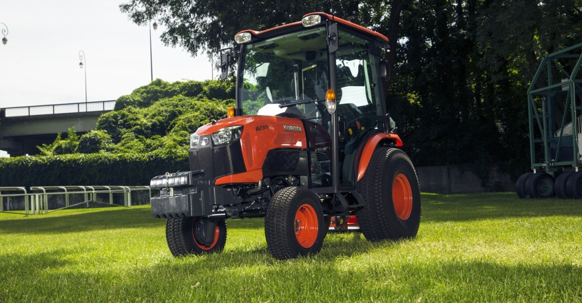 Kubota's new compact tractors pack a punch!