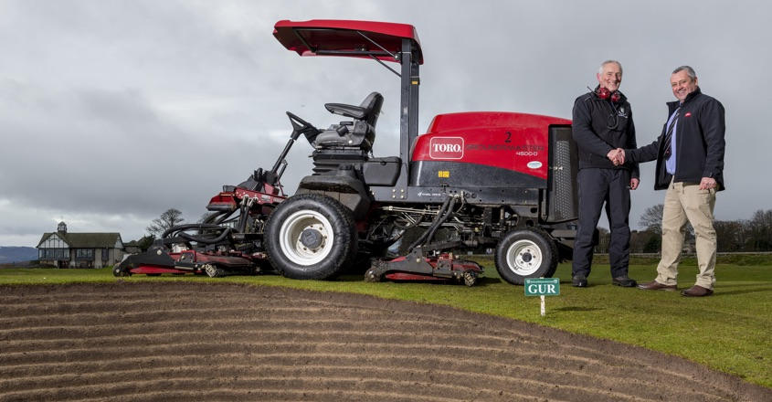 Traditional club trusts Toro tech