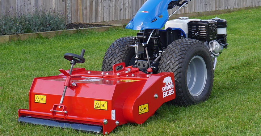 Tracmaster's new scarifier attachment