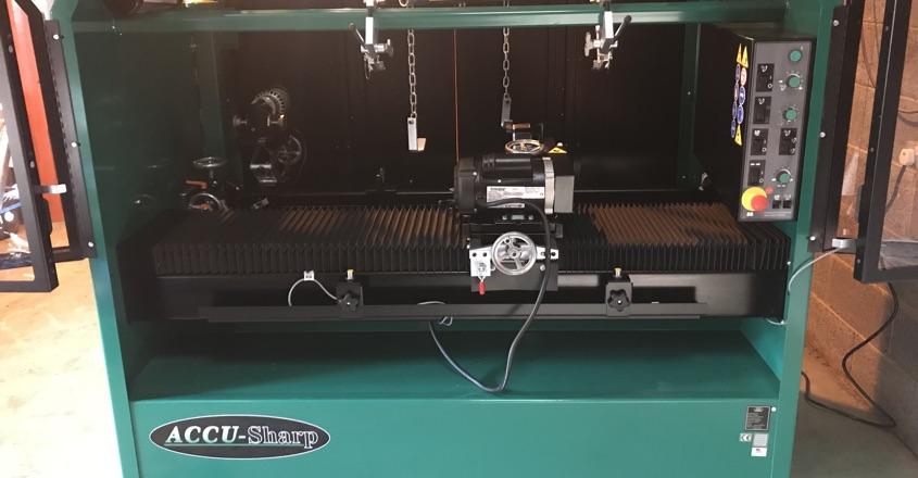 1st Foley grinder for Leamington GC