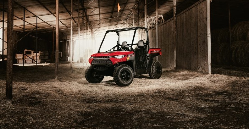 Polaris' new Ranger offers high-tech safety