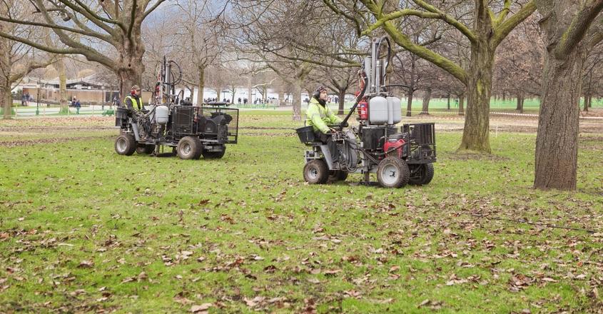 Terrain Aeration service Hyde Park