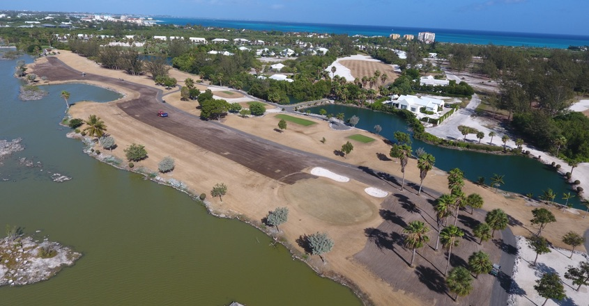 Provo Golf Club tackle island with Koro's help