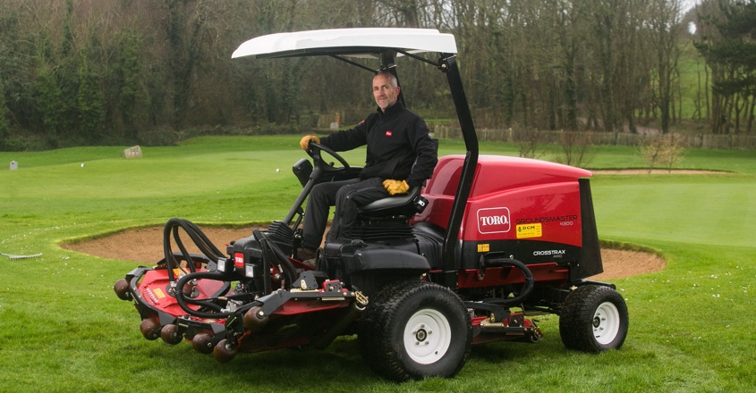 Toro chosen by Tehidy Golf Club