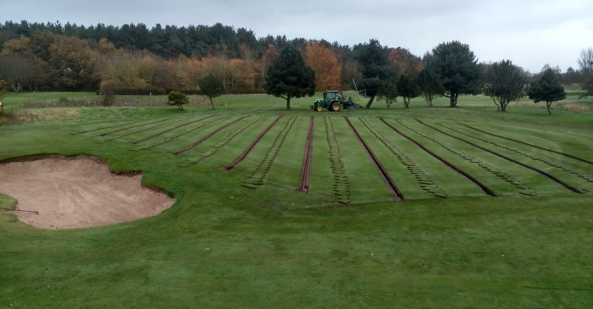 Hurlston Hall GC opt for Precision Greens