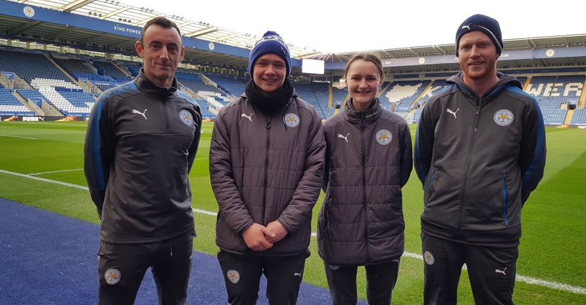 Pitch perfect apprenticeships at Leicester City