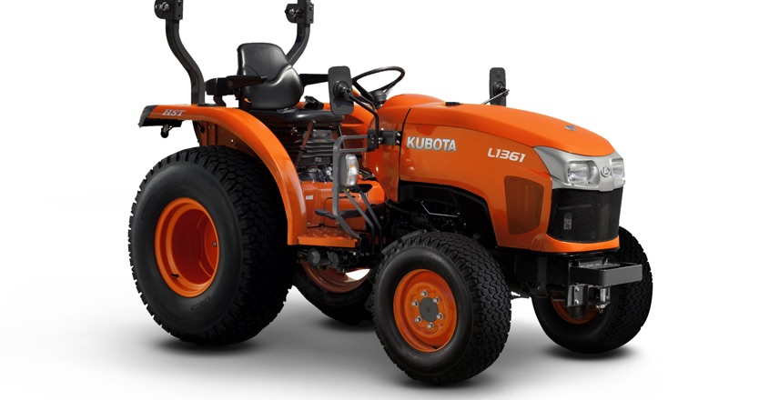 Kubota UK launches L1361 Utility Tractor