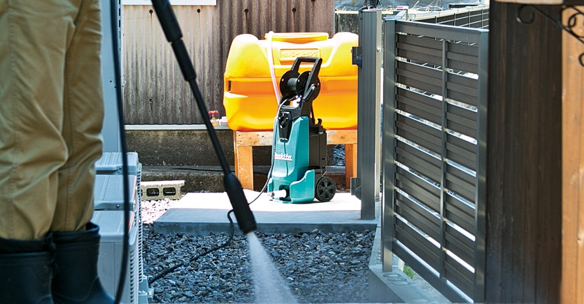 Makita expand pressure washer range