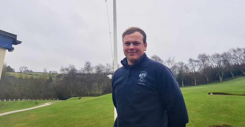 Apprentice Tom is fantastic at Macclesfield GC