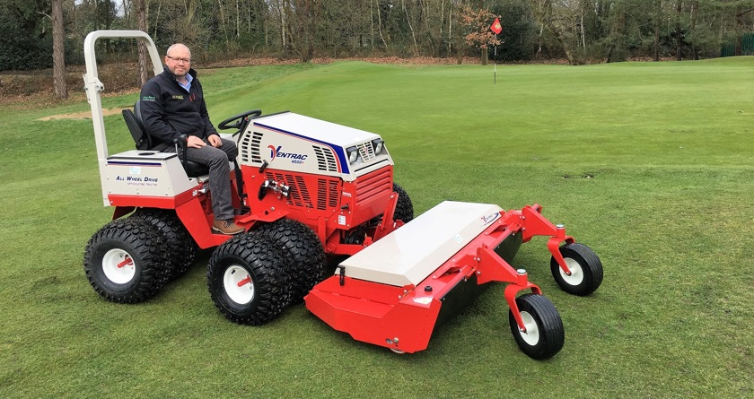 DJUKE's delight with Ventrac 4500