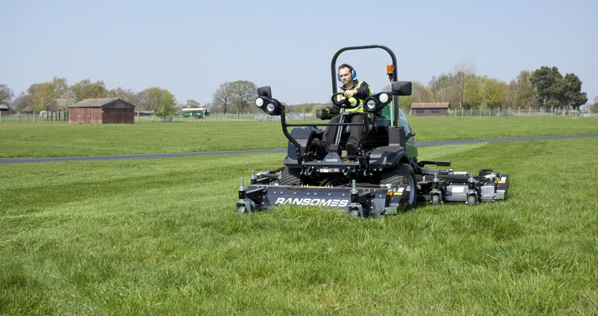 Textron unveil new Ransomes HM600