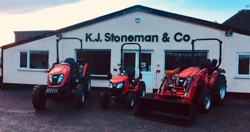 KJ Stoneman joins TYM Tractors