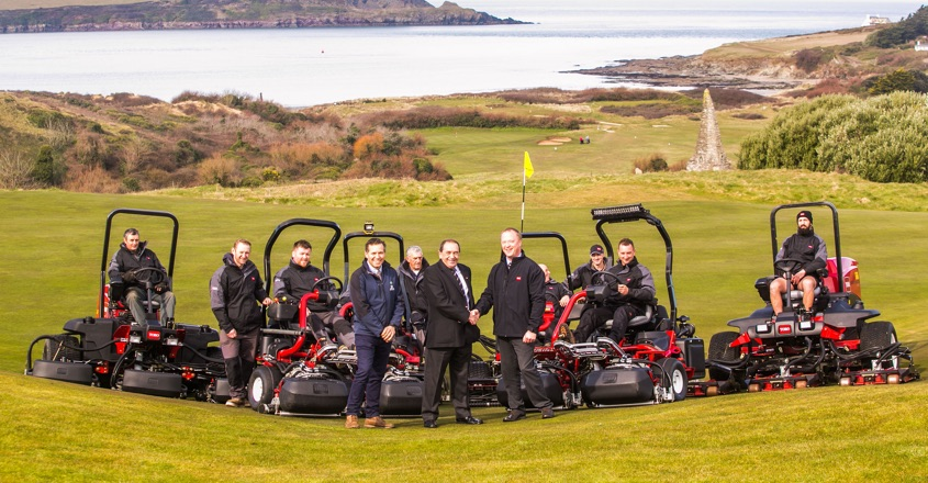 Toro now on roll call at St Enodoc