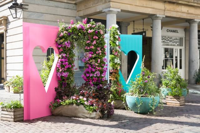 Covent Garden blooms for Chelsea Fringe