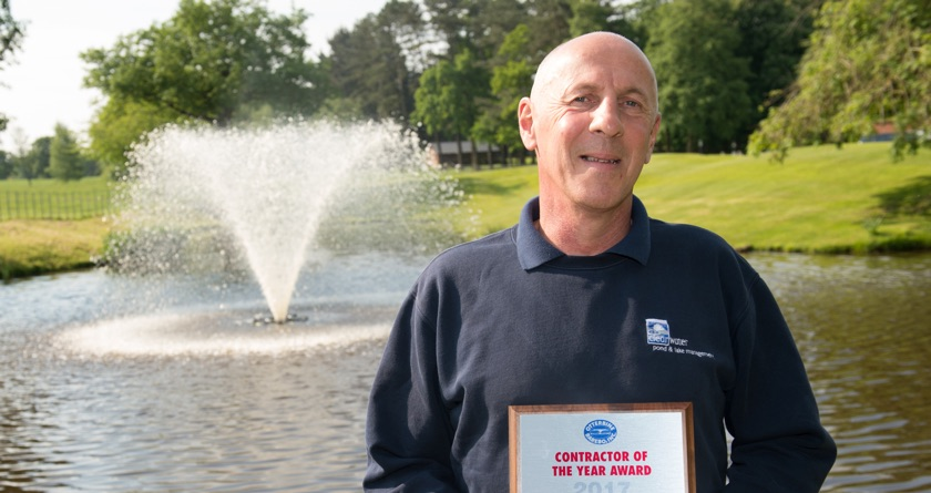 Small business wins contractor award