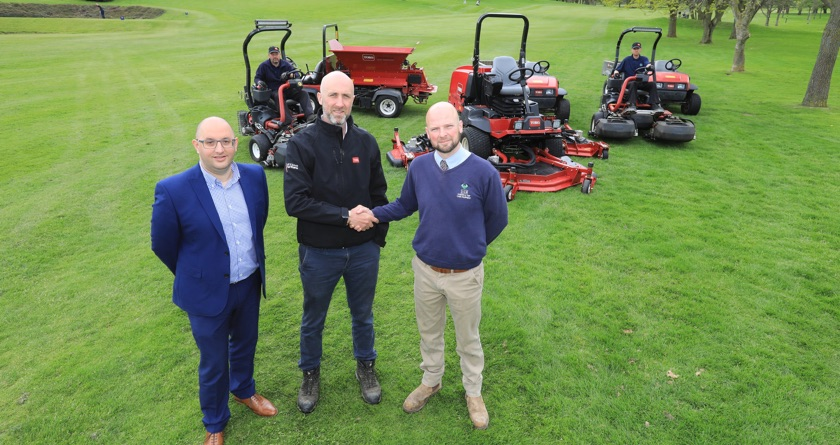 New course manager but Toro remains