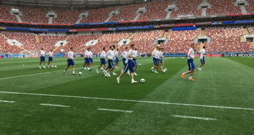 All eyes on Luzhniki Stadium's SIS Pitches
