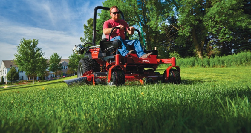 Get a trophy winning turf with Toro