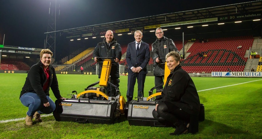 INFINICUT a hit at Holland's De Adelaarshorst
