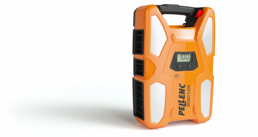 New Pellenc 1200 battery and harness for UK