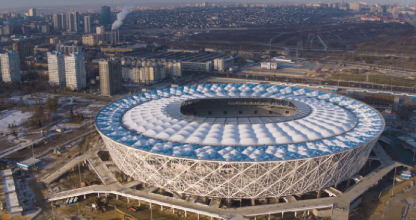 England on secure footing at Volgograd Stadium
