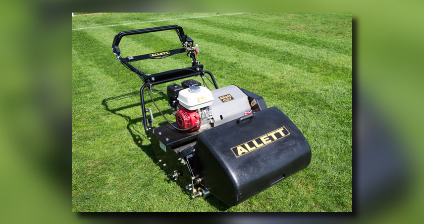 Allett cuts it with new cylinder mower