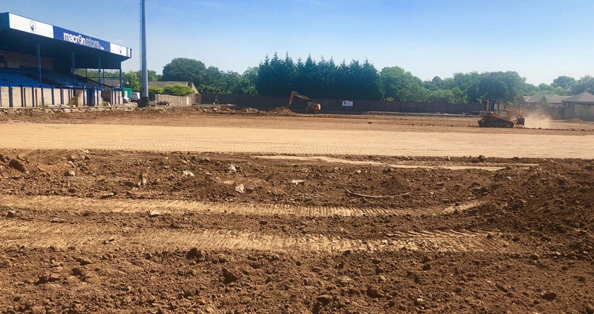 GreenFields begin 3G pitch at Buxton FC