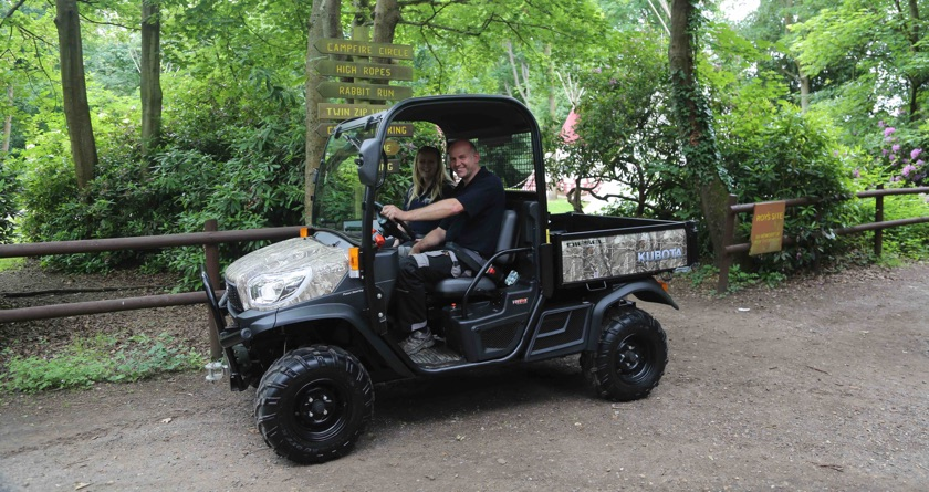 Kubota joins PACCAR Scout Camp