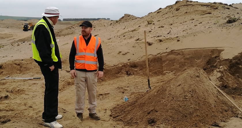 EcoBunker starts work on Dumbarnie Links