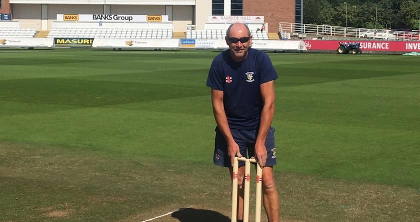 Headland helps Durham County Cricket Club